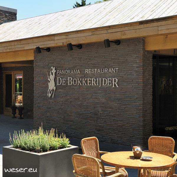 Plaquettes de parement muraux De Ryck By Weser STRATO Gris nuancé DRPKGM85
