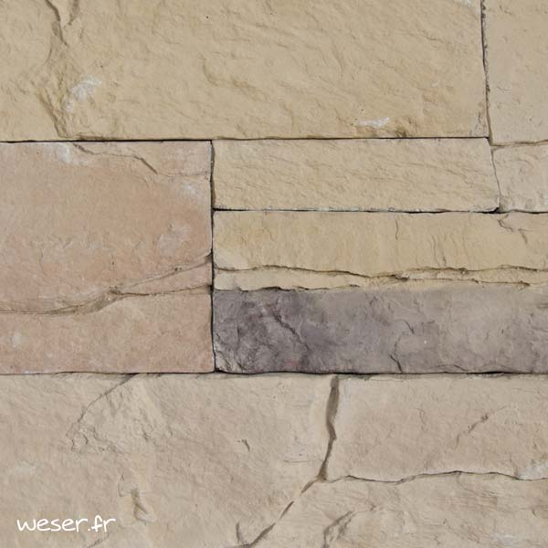 Plaquettes de parement muraux De Ryck By Weser MUROK ARKANSAS Brun Nuancé DRPKGM62