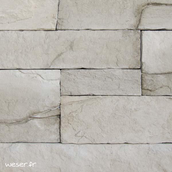 Plaquettes de parement muraux De Ryck By Weser MUROK ARKANSAS Gris Terre DRPKGM60