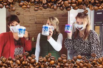 Journée Internationale du Café et du Sourire par Weser