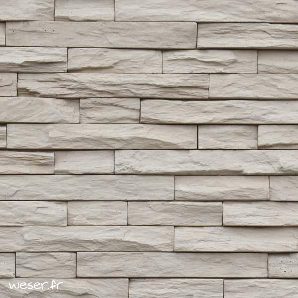 Plaquettes de parement muraux De Ryck By Weser MUROK STRATO Brun Léger DRPKGM82