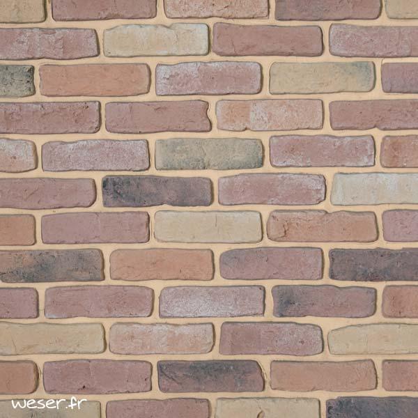 Plaquettes de parement muraux De Ryck By Weser GRANULIT Mix1