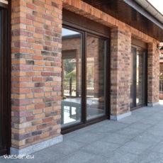 Plaquettes de parement muraux De Ryck By Weser GRANULIT Mix2
