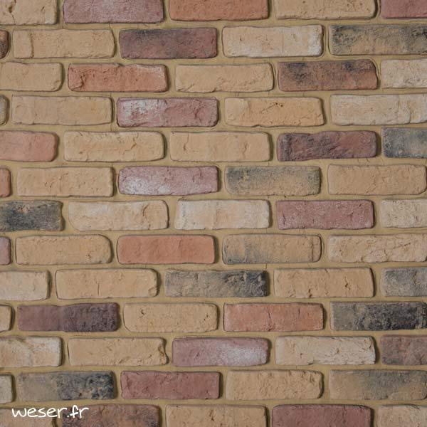 Plaquettes de parement muraux De Ryck By Weser GRANULIT Mix3
