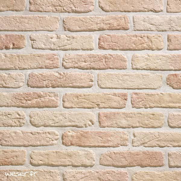 Plaquettes de parement muraux De Ryck By Weser GRANULIT G26 Saumon