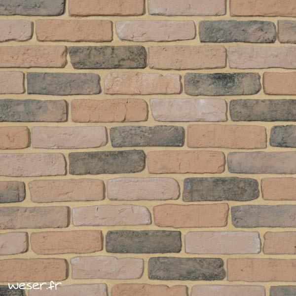Plaquettes de parement muraux De Ryck By Weser GRANULIT G53 Orange