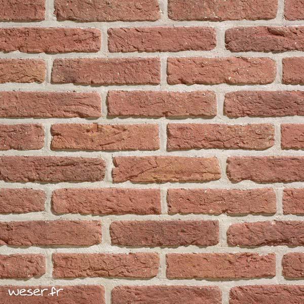 Plaquettes de parement muraux De Ryck By Weser GRANULIT G28 Rustique