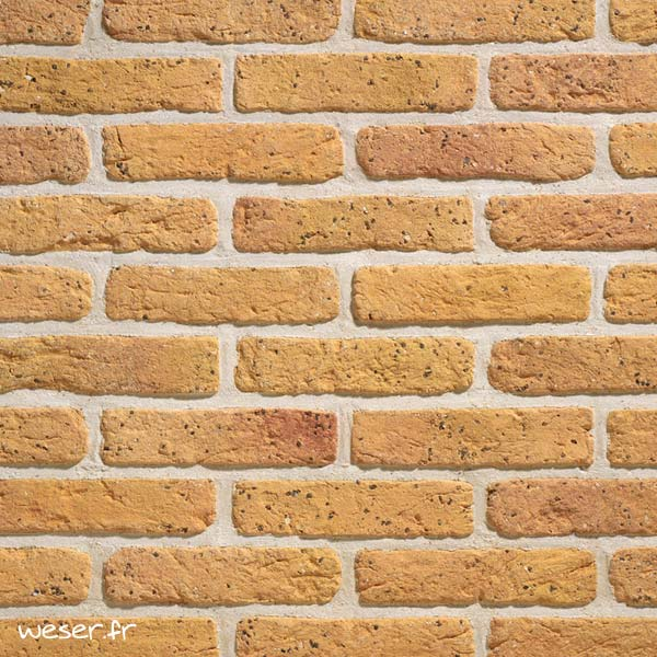 Plaquettes de parement muraux De Ryck By Weser GRANULIT G27 Savane