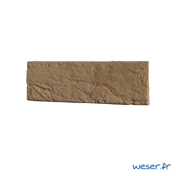 Plaquettes de parement muraux De Ryck By Weser INTERFIX Jaune Nuancé DRPKGIF37