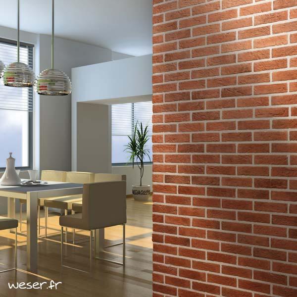 Plaquettes de parement muraux De Ryck By Weser INTERFIX Orange DRPKGIF14