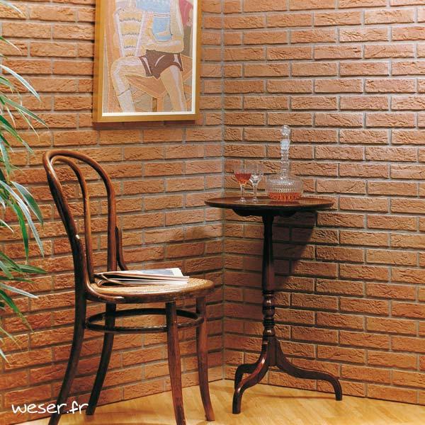Plaquettes de parement muraux De Ryck By Weser INTERFIX Rouge DRPKGIF13