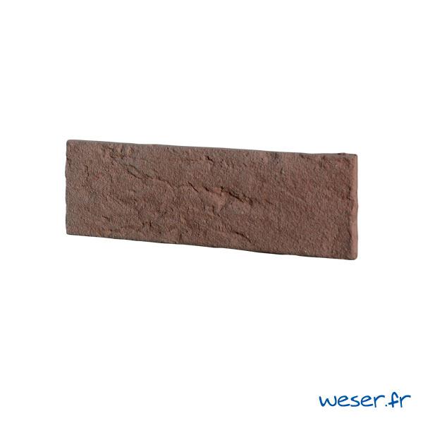 Plaquettes de parement muraux De Ryck By Weser INTERFIX Rouge DRPKGIF38