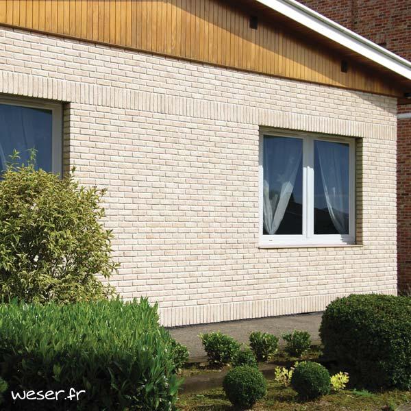 Plaquettes de parement muraux De Ryck By Weser INTERFIX Saumon DRPKGIF16