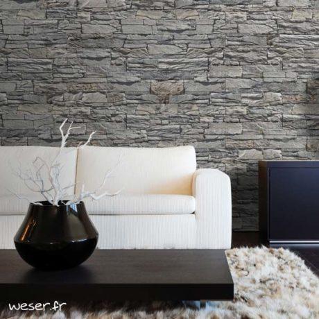Plaquettes de parement muraux De Ryck By Weser MUROK ARKANSAS Gris Clair DRPKGM63