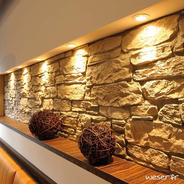 Plaquettes de parement muraux De Ryck By Weser MUROK SIERRA Brun Nuancé DRPKGM43