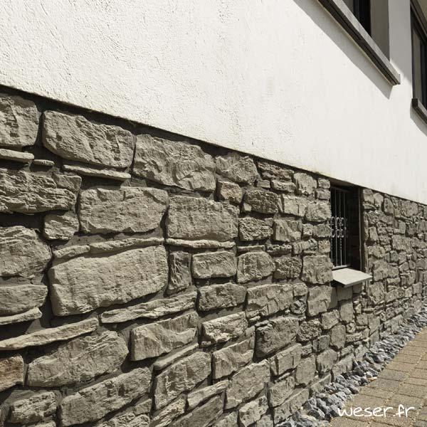Plaquettes de parement muraux De Ryck By Weser MUROK SIERRA Gris DRPKGM44