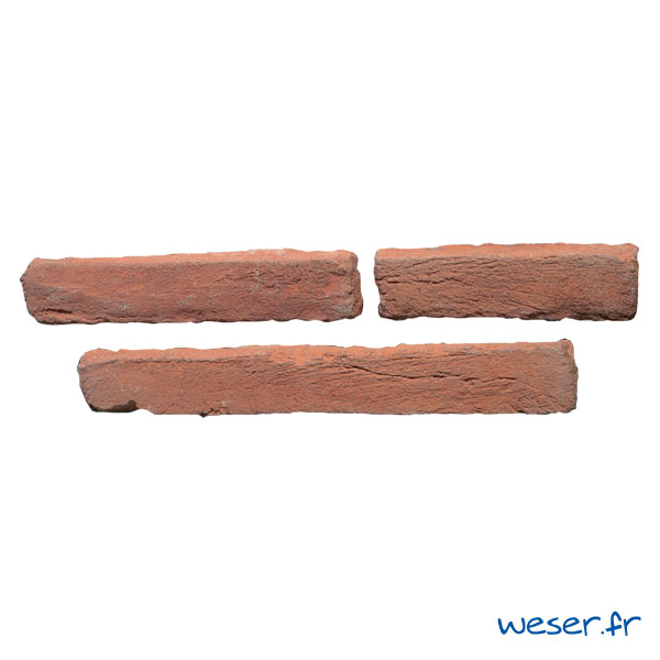 Plaquettes de parement muraux De Ryck By Weser MEDINA Rouge MEDRO