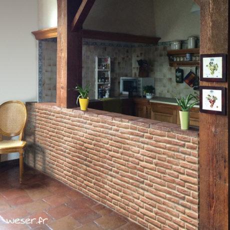 Plaquettes de parement muraux De Ryck By Weser MEDINA Terra Cotta MEDTC