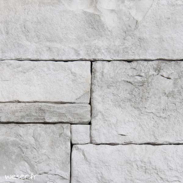 Plaquettes de parement muraux De Ryck By Weser ALVERSTONE ALV04 Gris nuancé