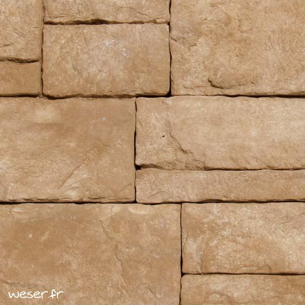 Plaquettes de parement muraux De Ryck By Weser ALVERSTONE ALV02 Marron
