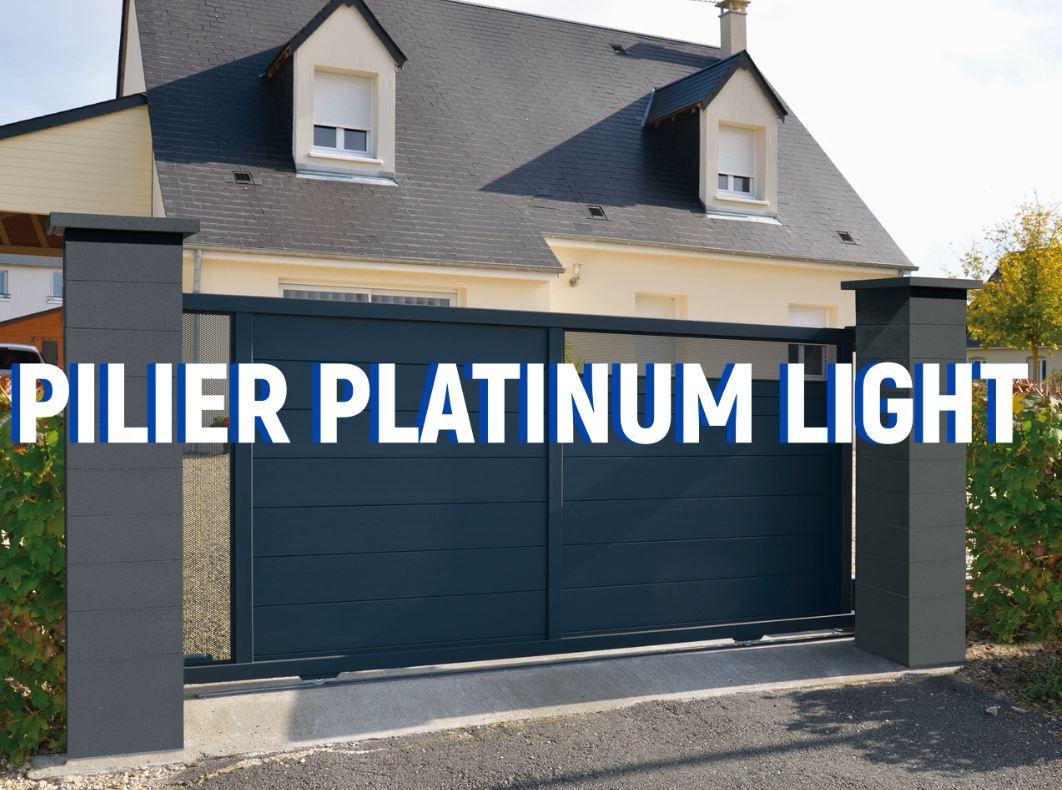 Pilier platinum light