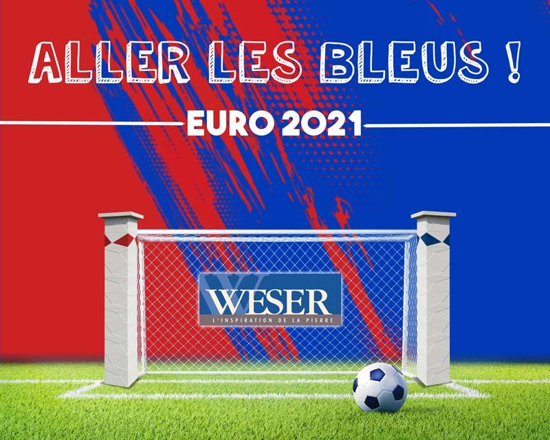 Weser soutient les Bleus à l'Euro2021