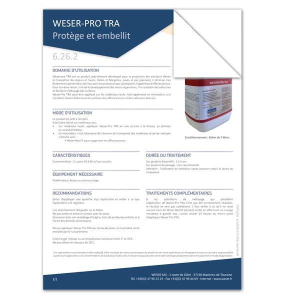 Accessoire WESER-Pro-Tra Protège et embellit