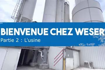 Viste de L'usine WESER à Mazières-de-touraine